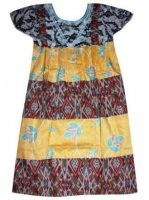 BTK-ANAK-2444 DRESS BATIK KATUN ANAK