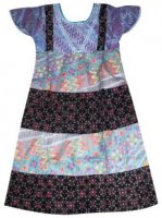 BTK-ANAK-2428 DRESS BATIK KATUN ANAK
