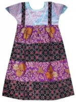 BTK-ANAK-2426 DRESS BATIK KATUN ANAK