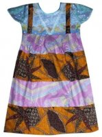 BTK-ANAK-2441 DRESS BATIK KATUN ANAK