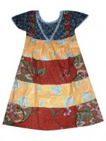 BTK-ANAK-2442 DRESS BATIK KATUN ANAK