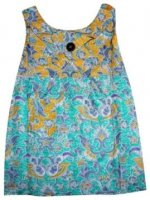BTK-ANAK-2665 DRESS BATIK KATUN ANAK