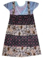 BTK-ANAK-2429 DRESS BATIK KATUN ANAK